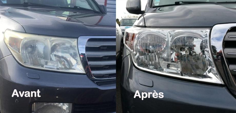 rénovation phares auto
